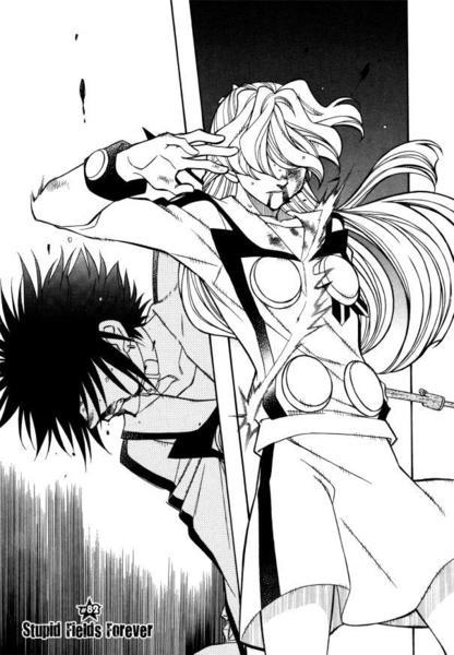 Hayate X Blade ch82